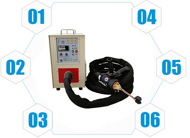手持式高频钎焊机
