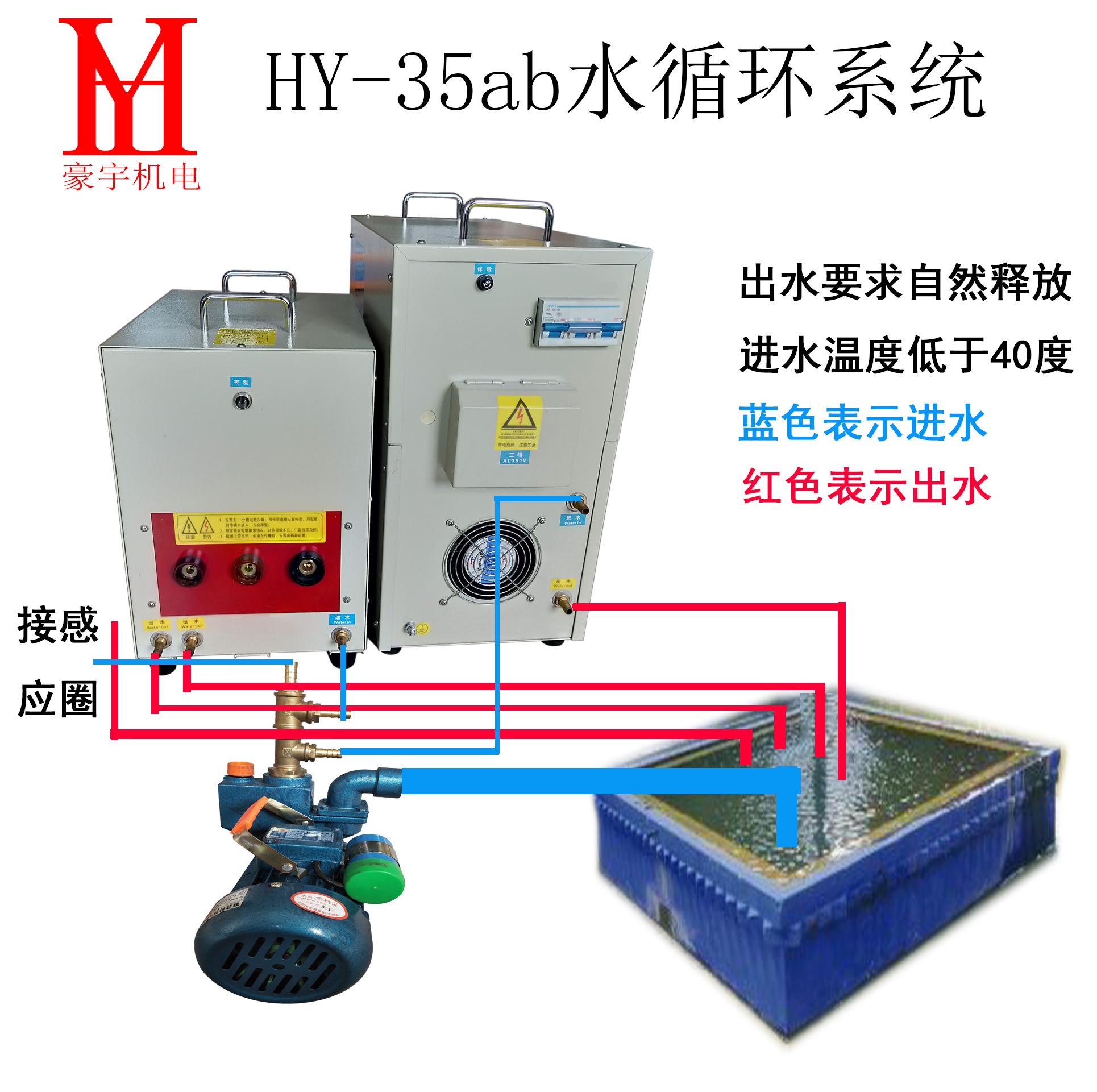 高频机35水路安装示意图