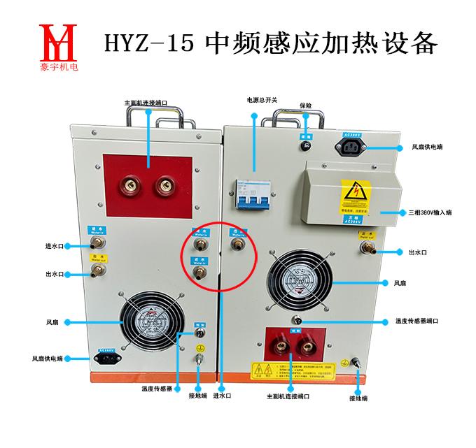 HYZ-15背面接口680