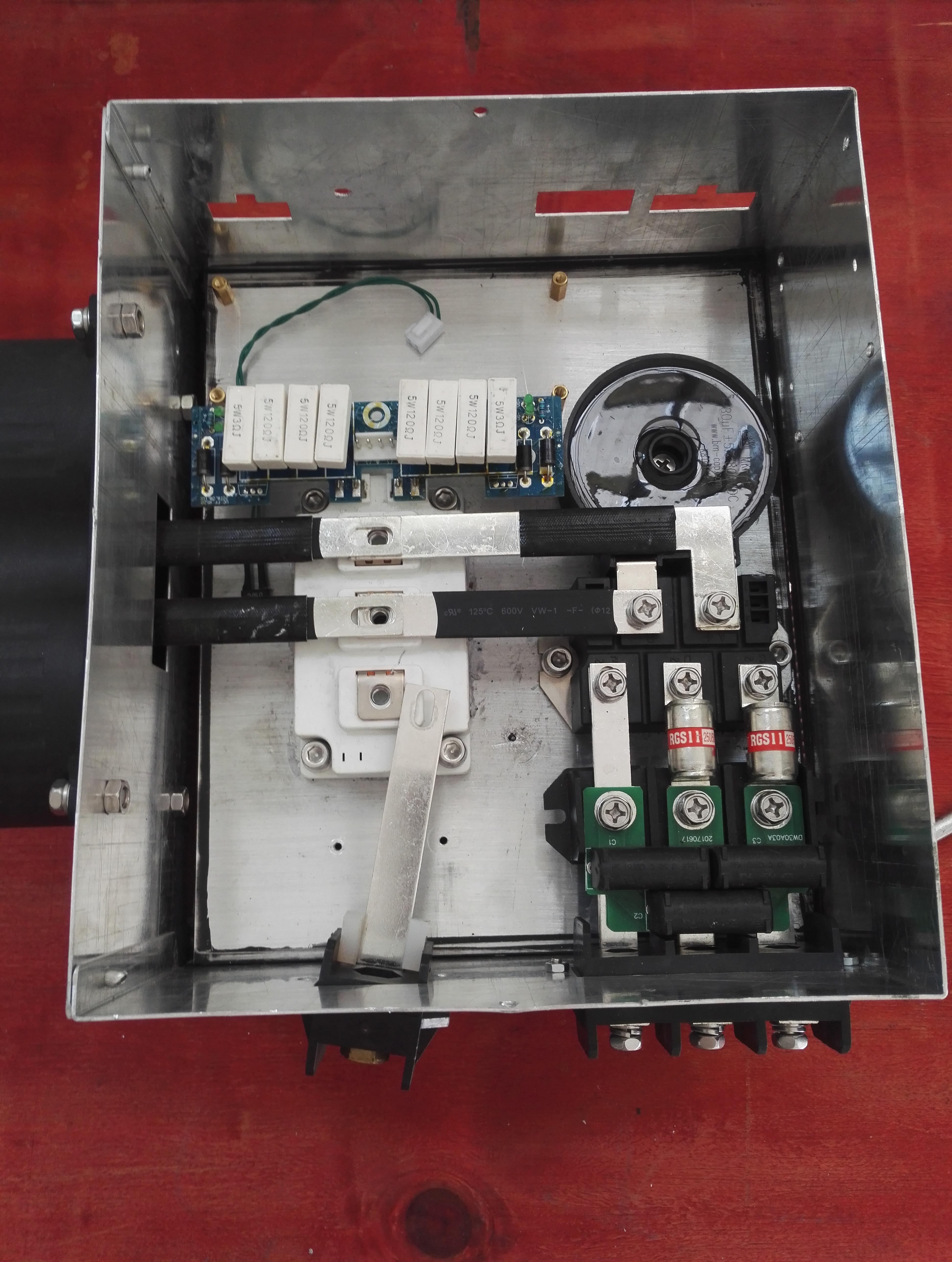 商用电磁炉改造