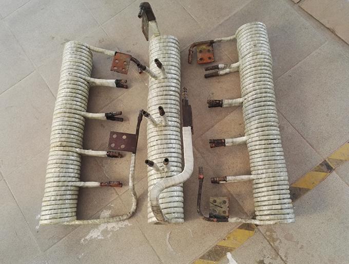 锻造炉线圈维修