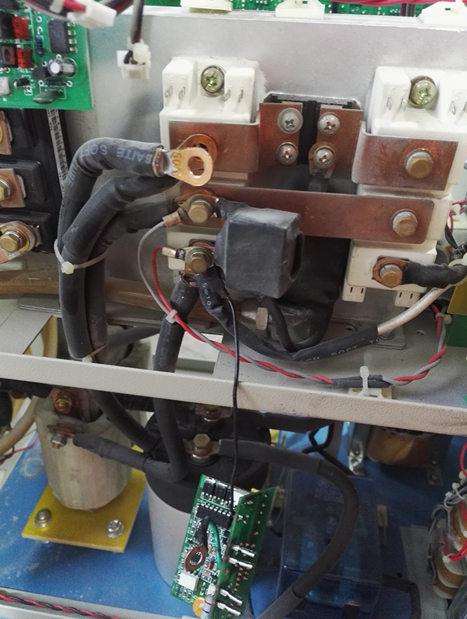 中频感应加热设备维修