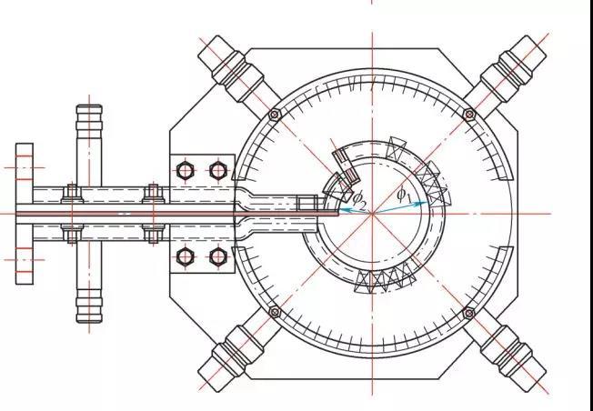 图4  配用尺寸