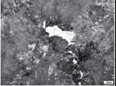 图9  珠光体+点状马氏体(风压0.20MPa,无侧向分压)