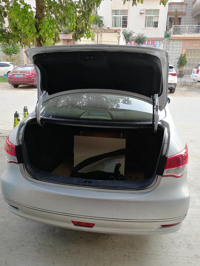 放在汽车尾箱都能带走
