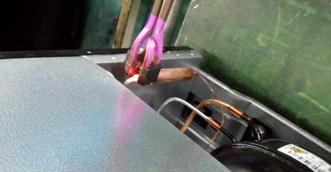 压缩机高频焊接设备