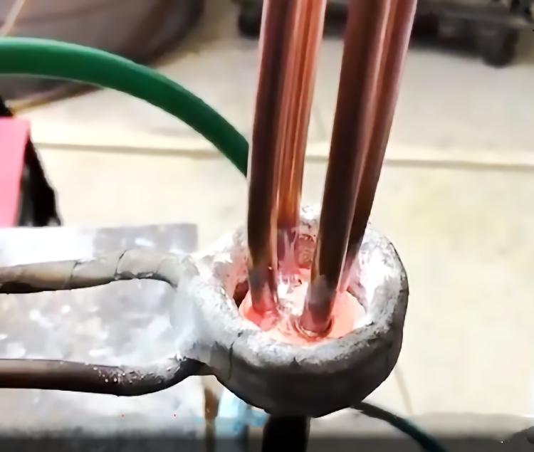 分流头焊接