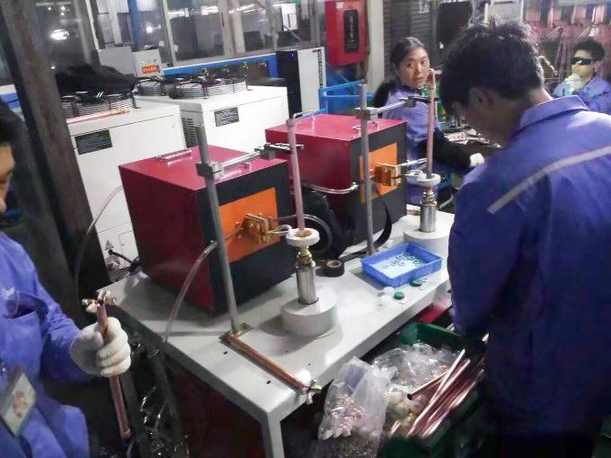 双工位铜管接头焊接机