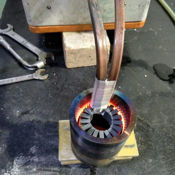 山东聊城新材料加热机热处理设备
