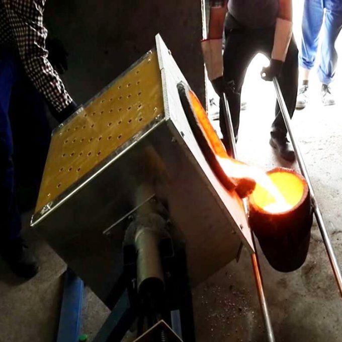铝料铜料钢料实验熔化炉厂家直销