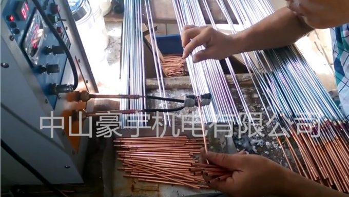 铜管配件焊接机